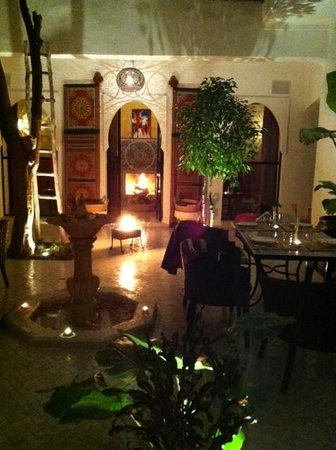 Riad Lhena: Ground level - bbq