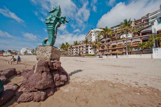 Vallarta Shores: Los muertos beach
