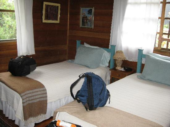 Casa de las Tias : comfy room, lovely view of the garden