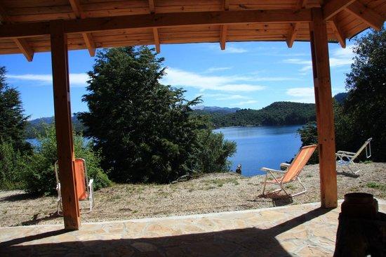 Hotel Peninsula de los Coihues: Vista desde le hotel