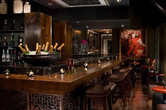indoor bar area picture of salon de ning rooftop new york city tripadvisor. Black Bedroom Furniture Sets. Home Design Ideas