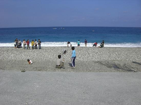 Chishingtan Scenic Area: ビーチ