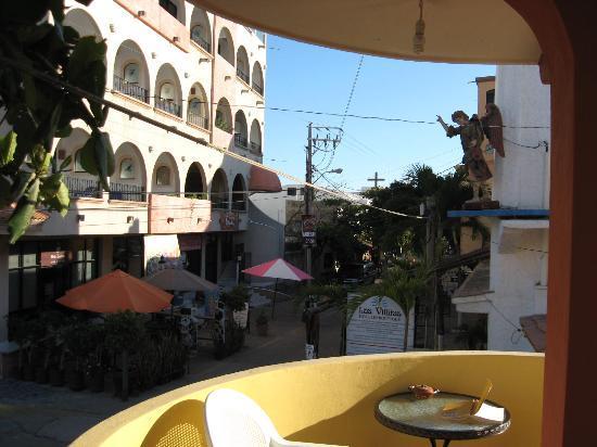 Casa Chips: balcony outside room