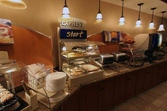 Express Start Hot Food Station