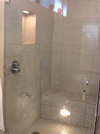 Bishopsfield Guest House: shower