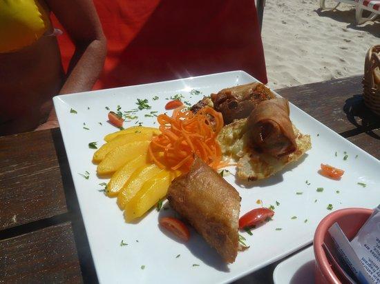 Kontiki: The seafood rolls