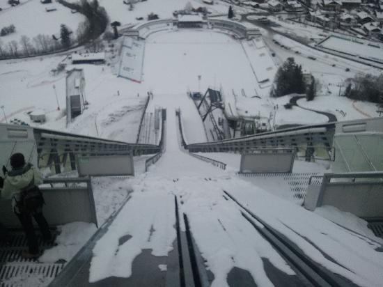 Olympiastadion : Long way down!