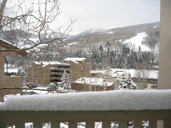Westwind at Vail: View of the Ski run from the living room
