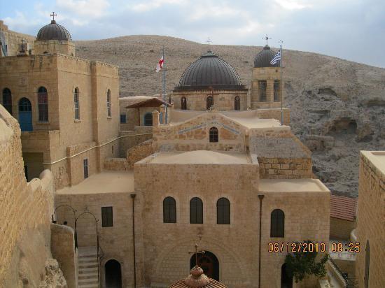 Mar Saba Monastery : the church