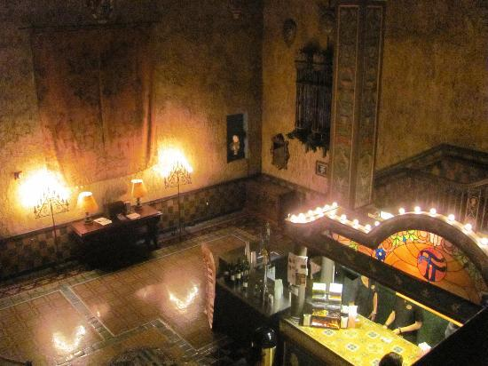 Tampa Theatre: Part of the lobby with the snack bar