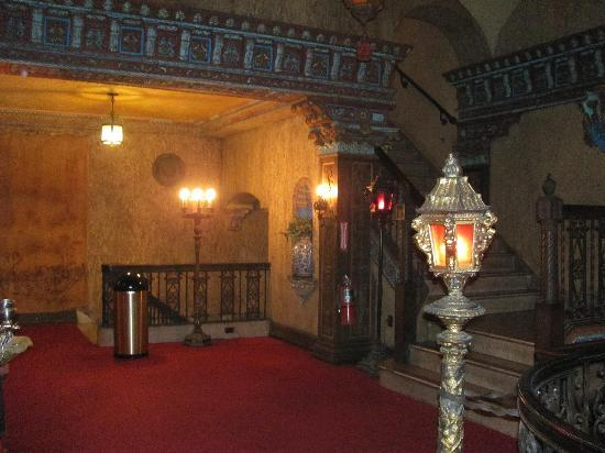 Tampa Theatre: upstairs behind the balcony