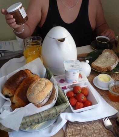 Bed and Breakfast Brugge : breakfast !!
