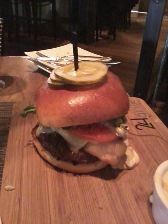 24Grille: ground prime burger ($21)