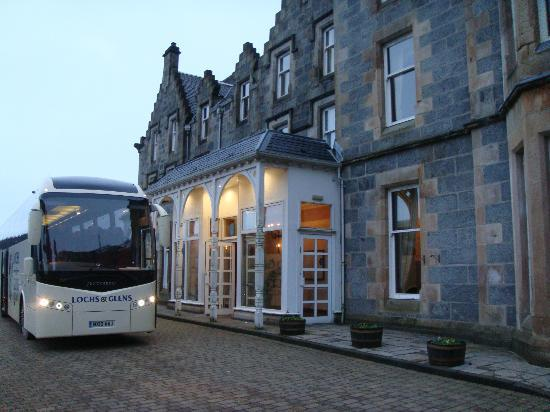 Loch Awe Hotel Coach Entrance