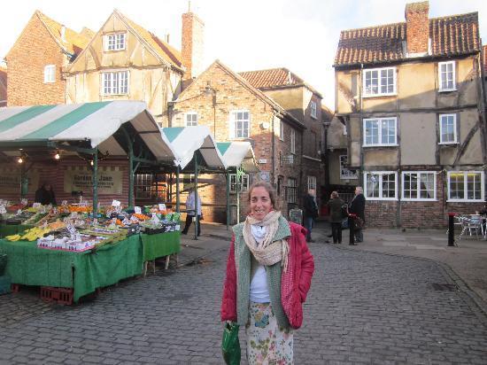 Shambles Market: Mercado diario de York