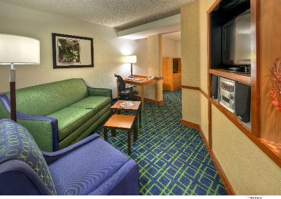 Fairfield Inn & Suites Reno Sparks: Suite Living Area