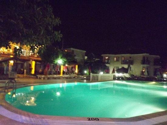 Lagoon Hotel: Pool at night