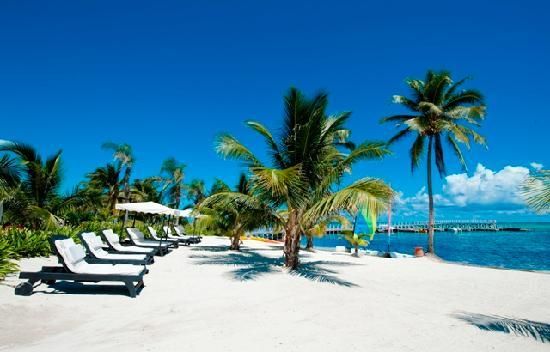 Las Terrazas Resort: Lounge on our private beach