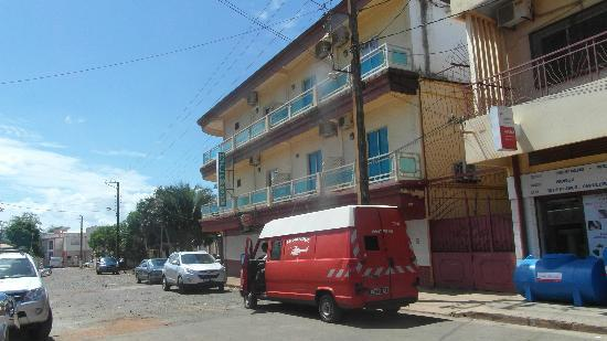 Hotel Emeraude : Hotel von außen