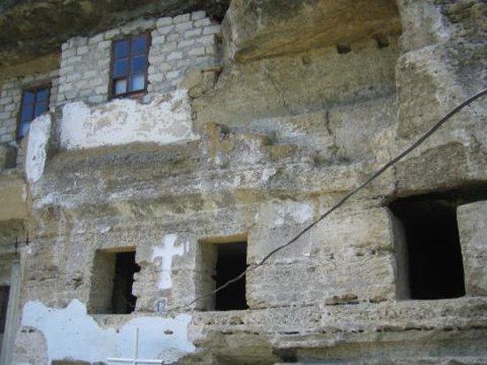 Tipova, Moldova: das Kloster
