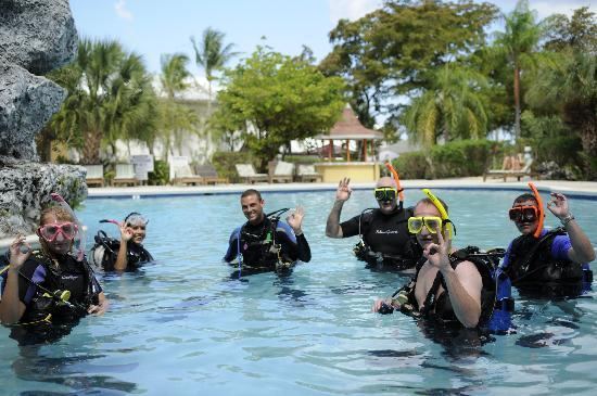 Divers Down: Certification Course pool training