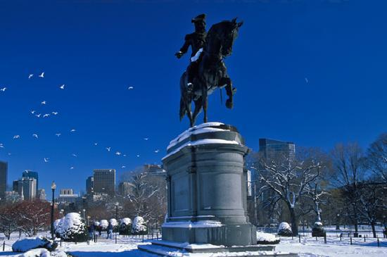 Winter In The City Picture Of Massachusetts United