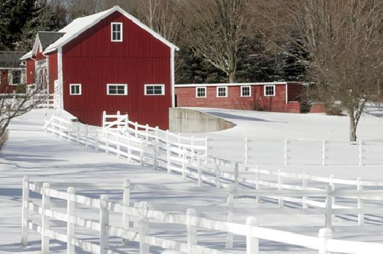 Μασαχουσέτη: Red Barn in Belchertown