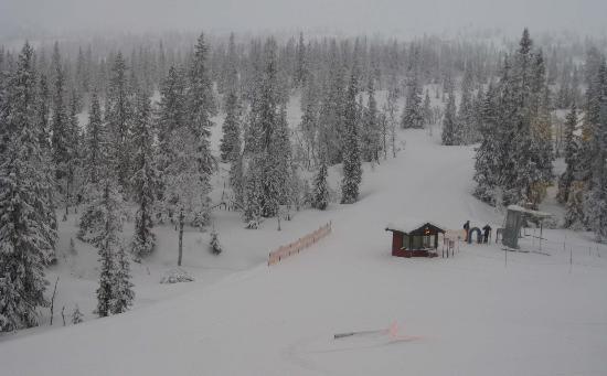 Park Inn Trysil Mountain Resort: view from hotel bedroom