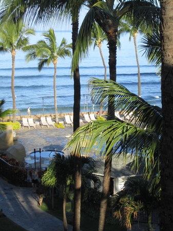 Aston Kaanapali Shores : View from lanai