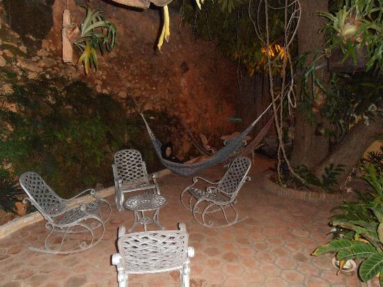 Hostal Casa Colonial el Patio: the patio
