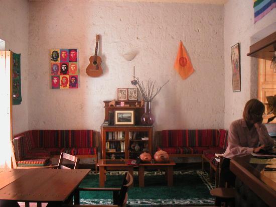Posada Nueva España: In the comfortable bar
