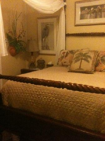 The Saragossa Inn B&B : The Palmbreeze room.