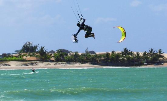 Stato di Rio Grande do Norte: Maracajaú-RN- Como é bom praticar Kitesurf aqui!!