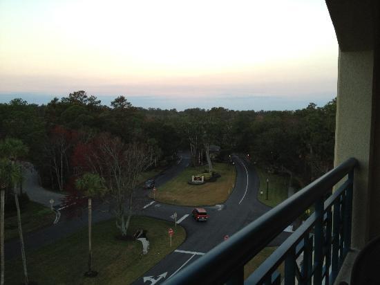 Hilton Garden Inn Jacksonville / Ponte Vedra: view from balcony
