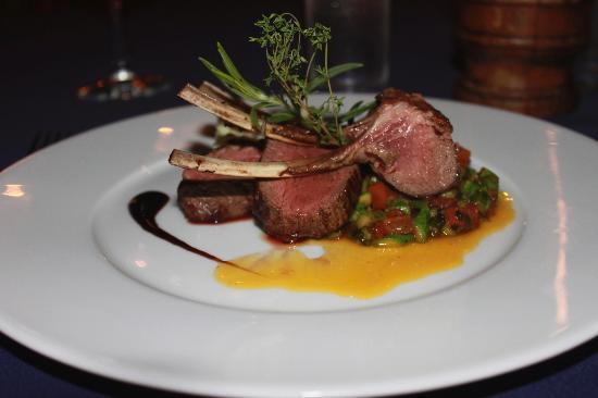 Restaurant Eden : Rack of Lamb special