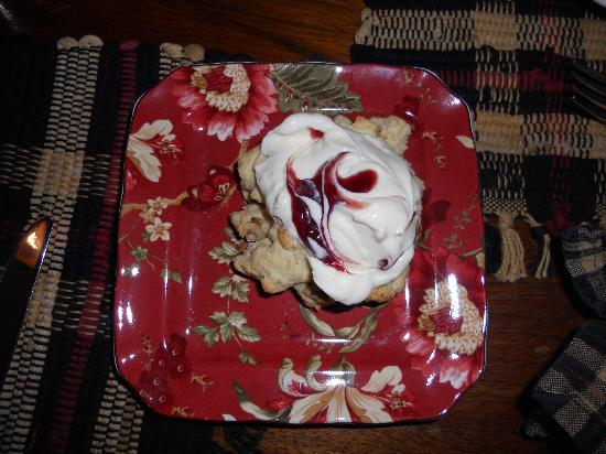 The Clarke House Bed & Breakfast: The Scone