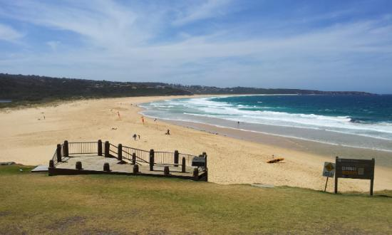 Coast Resort Merimbula: Surf Beach view