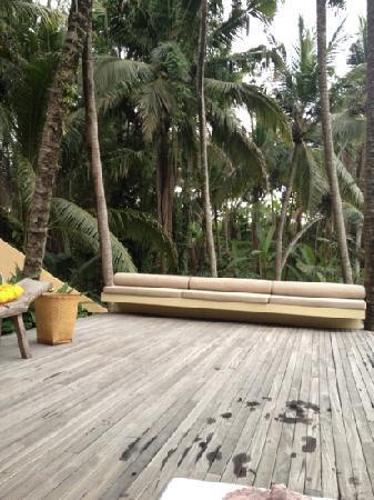 Komaneka at Rasa Sayang: Pool area