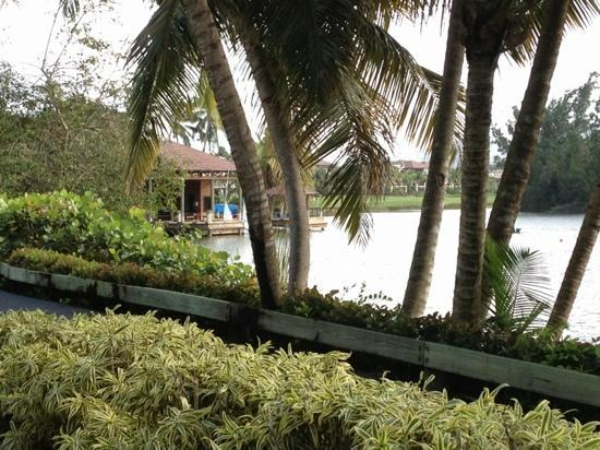 The St. Regis Bahia Beach Resort: boat house