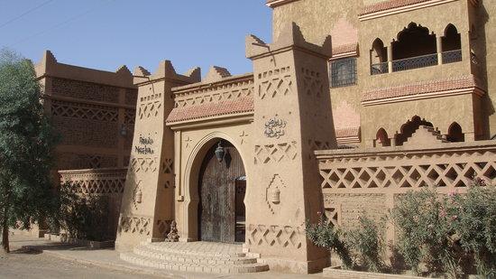 Riad Nezha: the main intrance