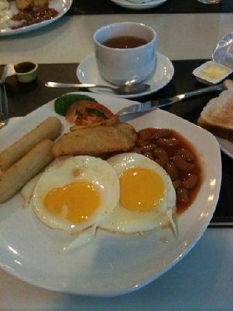 Victoria Inn: Breakfast set