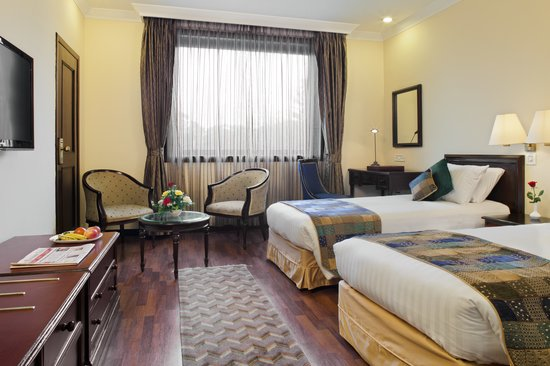 Crowne Plaza Kathmandu-Soaltee: Bed Executive Room_ Princep Wing