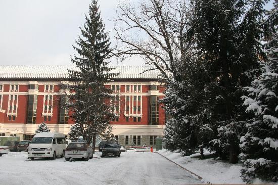 Dostyk Hotel: Holel & Parking