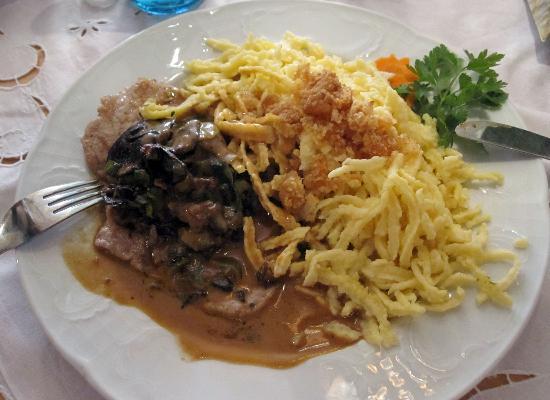 Landgasthof zur Lilie: food