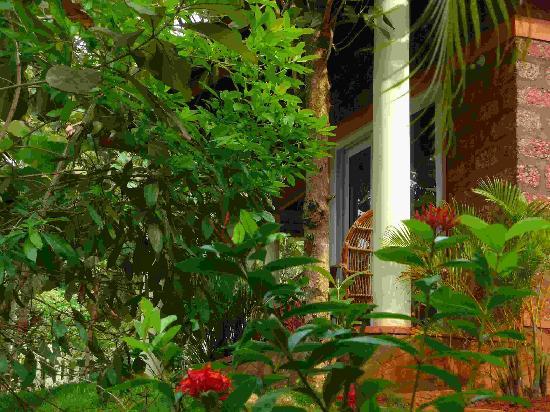 Vishram Village: Notre Bungalow de l'extérieur
