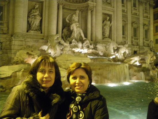 Intown Luxury House : Fontana di Trevi by night