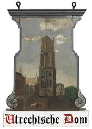 Hotel de Utrechtsche Dom : Monumental sign