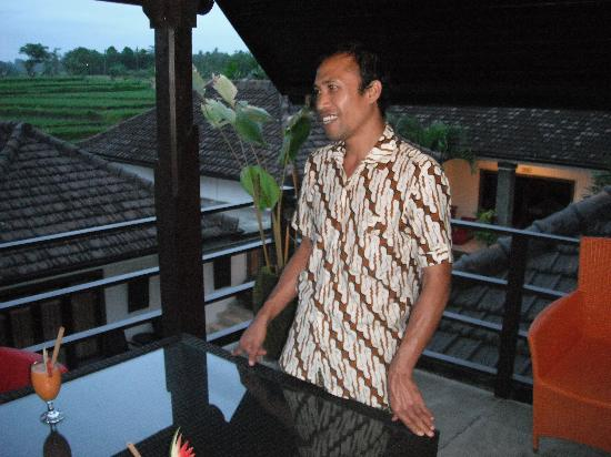 Balam Bali Villa: One of the lovely staff