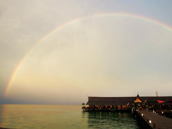 Sipadan Kapalai Dive Resort: 水上屋