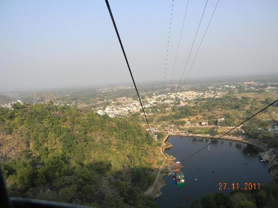 Rajnandgaon, India: ropeway